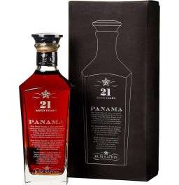 "Ром ""Rum Nation"" Panama 21 Years Old, gift box, 0.7 л"