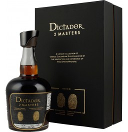 "Ром Dictador, ""2 Masters"" Despagne, 1980, gift box, 0.7 л"