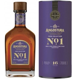 "Ром Angostura ""Cask Collection №1"" 16 YO, gift tube, 0.7 л"