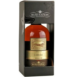 "Ром ""Rum Nation"", Caroni, 1998, gift box, 0.7 л"