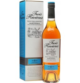 "Ром ""Trois Rivieres"" 8 Years Old, Martinique AOC, gift box, 0.7 л"