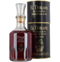 "Ром ""El Dorado"" Special Reserve 25 Years Old, gift box, 0.7 л"